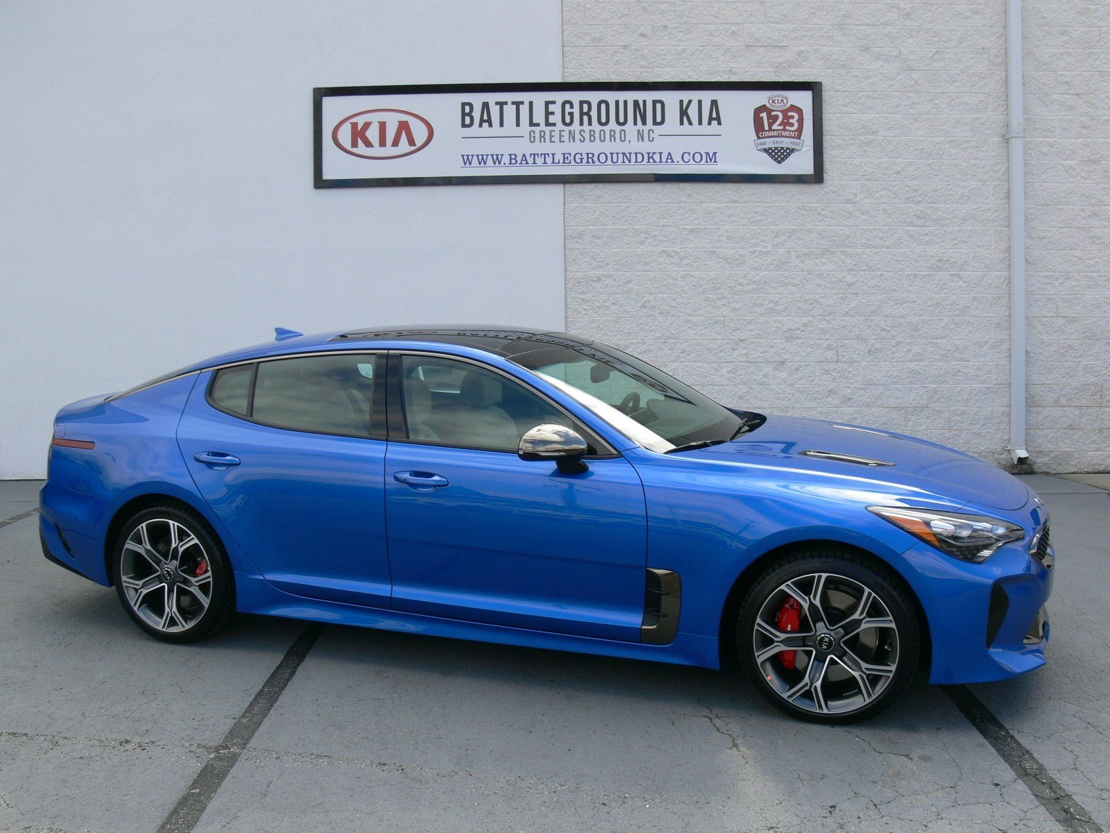 New 2018 Kia Stinger Gt2 4dr Car In Greensboro 18321 Battleground 2009 Optima Navigation System Components And Wiring Harness