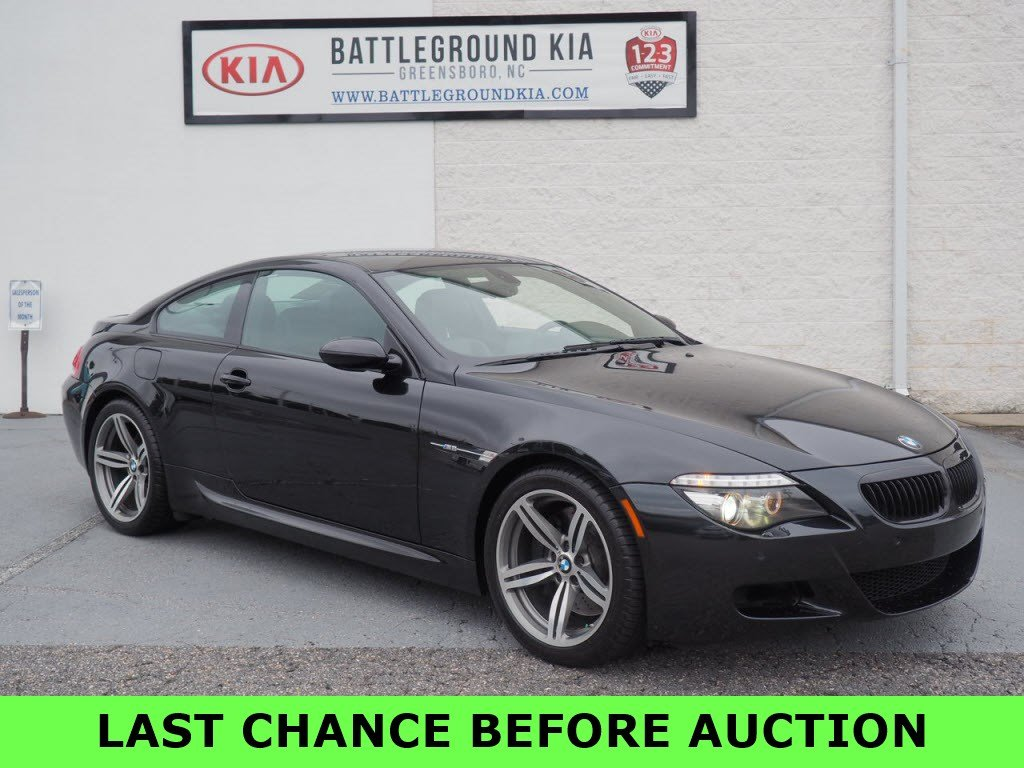 Used Tires Greensboro Nc >> Used 2008 Bmw 6 Series M6 With Navigation